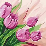 """Картина по номерам """"Персидские тюльпаны"""" ★★, КНО2948, магазин игрушек"""