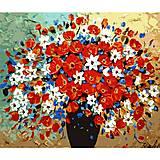 Картина по номерам «Пестрый букет», КН304