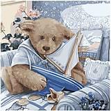 Картина по номерам «Плюшевый юнга», КНО2311, магазин игрушек