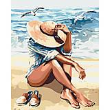 """Картина по номерам """"Под пьянящим солнцем"""", КНО2698, фото"""