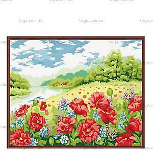 Картина по номерам «Поле маков», КН152