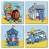 Картина по номерам «Полиптих: Летние приключения» ★★★, KNP016, купить