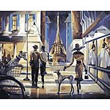 Картина по номерам «Прогулка по Парижу», КН2124, купить