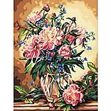 Картина по номерам «Роскошные пионы», КН081, отзывы