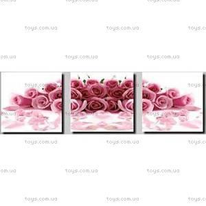 Картина по номерам «Розовые розы», MT3025