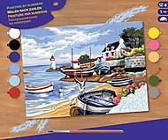 Картина по номерам «Рыбацкое село», SA1035, отзывы
