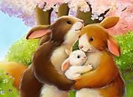 Картина по номерам «Счастливая семья», КН2426, купить