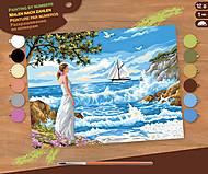 Картина по номерам «Шепот берегов», SA1334, фото