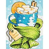 Картина по номерам «Сладкая зима» ★★★, КНО5504