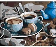 Картина по номерам «Солодкий ранок», КНО5521, фото