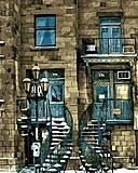 Картина по номерам «Старинный дом», AS0143, отзывы
