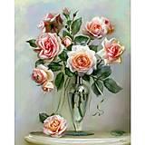 Картина по номерам «Трепетные розы», КН2034