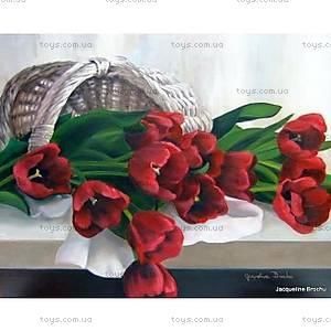 Картина по номерам «Тюльпаны в корзинке», КН2064