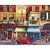 "Картина по номерам ""Улицами Парижа"", 40x50 см, КНО2189, купить"