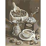 Картина по номерам «Утренний Кофе», КНО2047, фото
