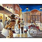 Картина по номерам «Вечерний променад», КН2123, купить