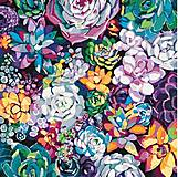Картина по номерам «Волшебные цветы», КНО3017, купить