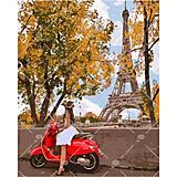Картина по номерам «Впервые в Париже», КНО4581, отзывы