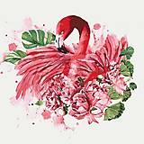 Картина по номерам Идейка «Грациозный фламинго», КНО4042, купить