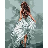 Картина по номерам «Загадочная женщина», КНО4618