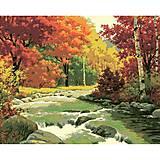 Картина по номерам «Золотая осень», КН2125, фото