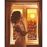 Картина по номерам «Золотой рассвет» ★★★, КНО4648, купить