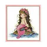 Картина «Русалочка» для рукоделия, R028