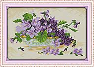 Картина «Сиреневая мечта» для рукоделия, H315, фото