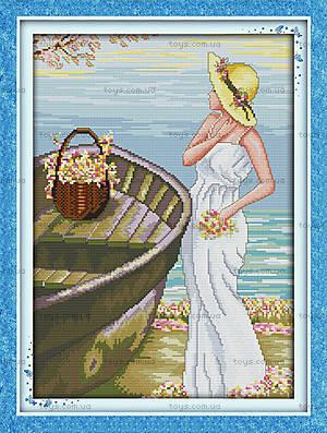 Картина «В ожидании» для вышивки нитками, R358(2)