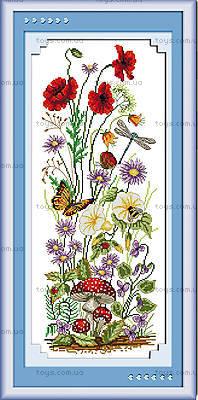Картина «Весеннее настроение» для вышивки, H037