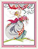 Картина «Волшебная девушка», вышивка крестиком, R533, фото