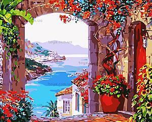 Картина «Вид на залив», рисование по номерам, MG1111