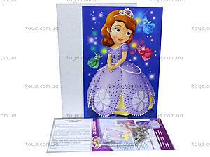 Картина из пайеток «Принцесса София», 15153071Р, фото