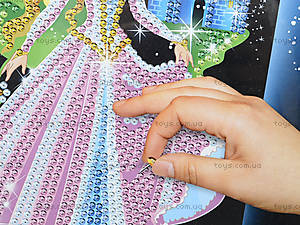 Картинка из пайеток «Принцесса», 4748, фото