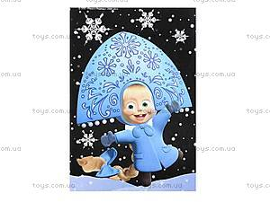 Картинка из пайеток «Маша и медведь», 3010-01, игрушки