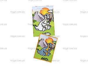 Картинка из пайеток и глиттера «Динозаврик», 900-4, фото