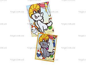 Картинка из пайеток и глиттера «Котенок», 900-8, фото