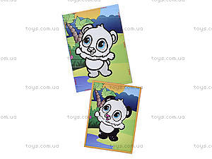 Картинка из пайеток и глиттера «Панда», 900-11, фото