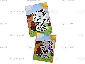 Картинка из пайеток и глиттера «Собачка», 900-14, фото
