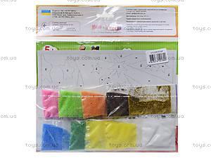 Набор для творчества «Картинка из песка. Маша- фокусница», 2009-12, купить