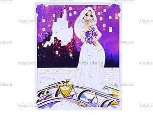 Картинка из глиттера Дисней «Принцессы Аврора и Рапунцель», 2024-01, купить