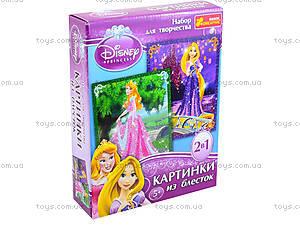 Картинка из глиттера Дисней «Принцессы Аврора и Рапунцель», 2024-01, игрушки