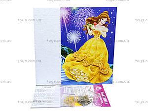 Картинка из пайеток «Принцесса Бель», 4748-02, фото