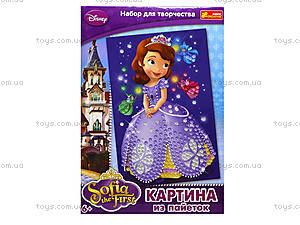 Картинка из пайеток «Принцесса София», 4748-04, цена