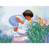 Картины по номерам «Будущий флорист», MG1029, фото