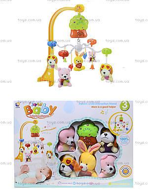 Карусель на кроватку Music Mobile, мягкие игрушки, 6601