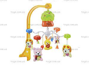 Карусель на кроватку Music Mobile, мягкие игрушки, 6601, отзывы