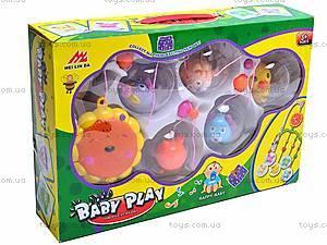 Карусель на кроватку малыша, 2962/63/64, игрушки