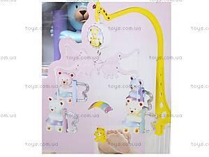 Карусель на кроватку «Мишки», TLF-116, игрушки