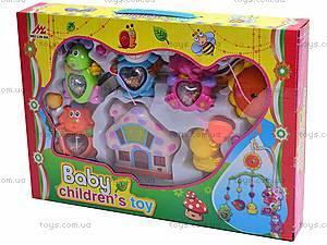 Карусель на кроватку, музыкальная, 2825-2827, игрушки